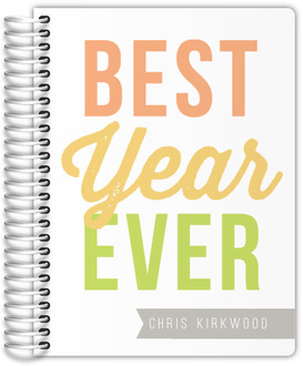 Happy Best Year Ever Custom Planner
