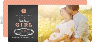 Elephant Chalkboard Pregnancy Announcement