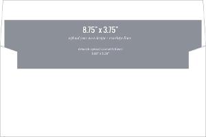 Upload Your Own Design 8.75x3.75 Envelope Liner