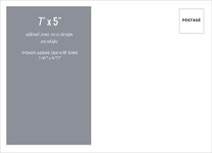 Upload Your Own Design 7x5 Envelope