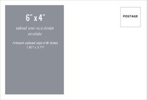 Upload Your Own Design 6x4 Envelope