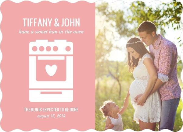 Bun in the Oven Pregnancy Announcement