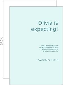 Pregnant Mama Pregnancy Announcement