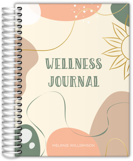 Sweet Watermelon Monogram Recipe Journal