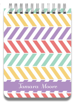 Colorful Pastel Pattern Notepad