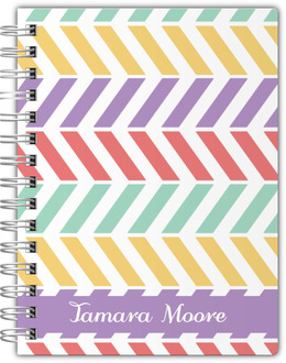 Colorful Pastel Pattern Notebook