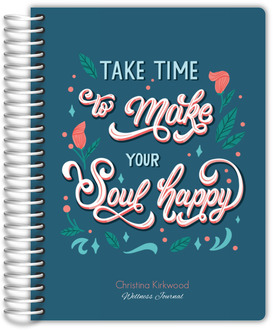 Bold Floral Journal