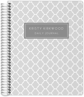 Quatrefoil Pattern Journal