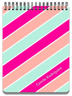 Lovely Stripes Notepad