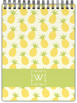 Pinneapple Monogram Notepad