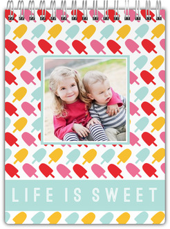 Life is Sweet Photo Notepad