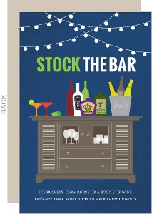 Stock The Bar Housewarming Invitation