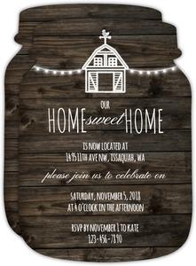 Rustic Farm Housewarming Party Invitation