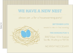 We Have A New Nest Housewarming Invite