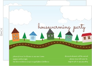 Our Town Housewarming Party Invitation
