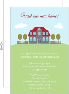 Classic Housewarming Invitation