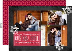 Our New Home Holiday Photo Card
