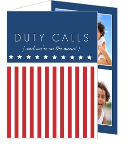 Duty Calls Moving Announcement