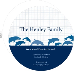 Dolphin Family Moving Announcement