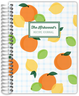 Fresh Citrus Recipe Journal
