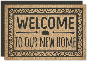 Welcome Mat Moving Announcement