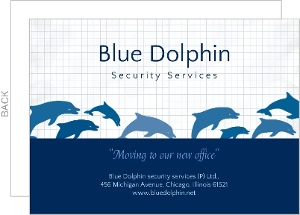 Blue Dolphin Business Moving Announcement