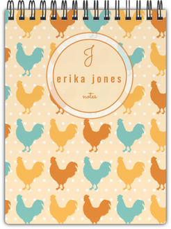 Rustic Chicken Notepad