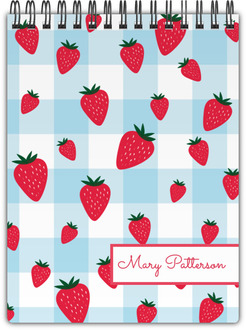 Strawberry Jam Notepad