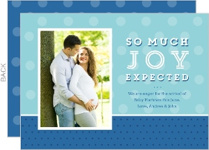 Expectant Joy Pregnancy Announcement