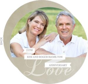 Silver Celebration 25Th Anniversary Invitation