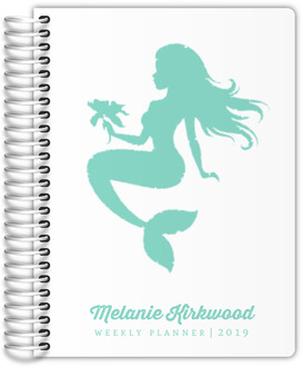 Tropical Mermaid Planner