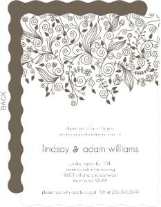 Elegant And Simple Anniversary Invite - 4065