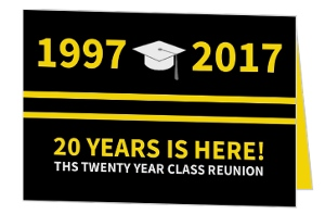 Class Reunion Photo Invitation