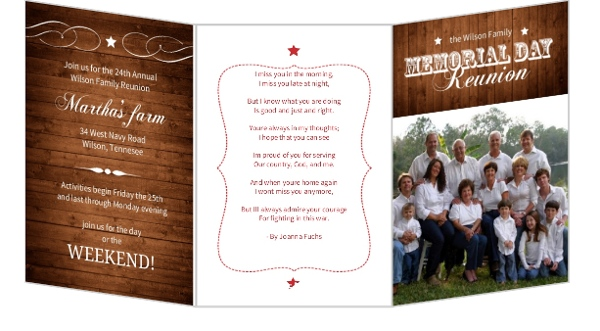 Family Reunion | Reunion Invitations