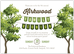 Arrows Family Re-Union Invitation