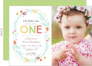 First Birthday Invitations & 1st Birthday Invites