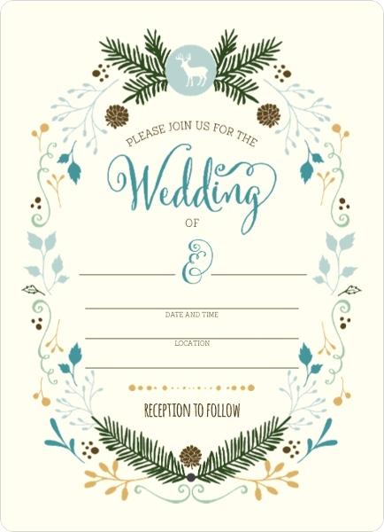 blank party invitations & diy party invitations, Wedding invitations