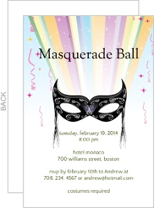Masquerade ball invitation 4217 0 big