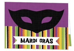 Black And Purple Theme Mardi Gras