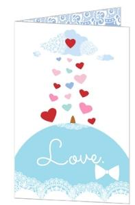 Pastel Valentine S Day Card - 4250