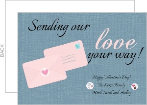 Love Letter Valentine S Day Card