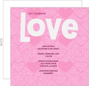 Love Celebration Invitation
