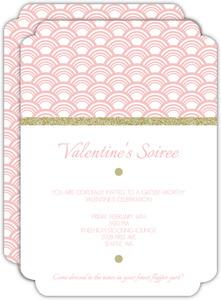 Glittery Gatsby Valentine S Invitation