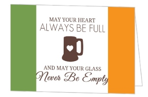 Irish Pride St Patricks Day Invitation