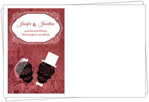 Love At First Fright Halloween Envelope