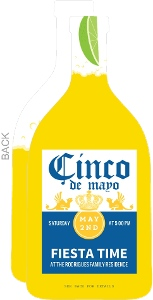 Beer Bottle With Lime Cinco De Mayo Invitation