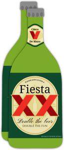 Green Label Beer Cinco De Mayo Party Invitation