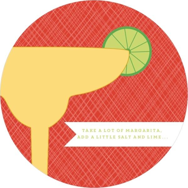 Margarita Party Glass Cinco De Mayo Invitation