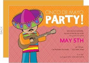 Cinco De Mayo Mariachi Invite