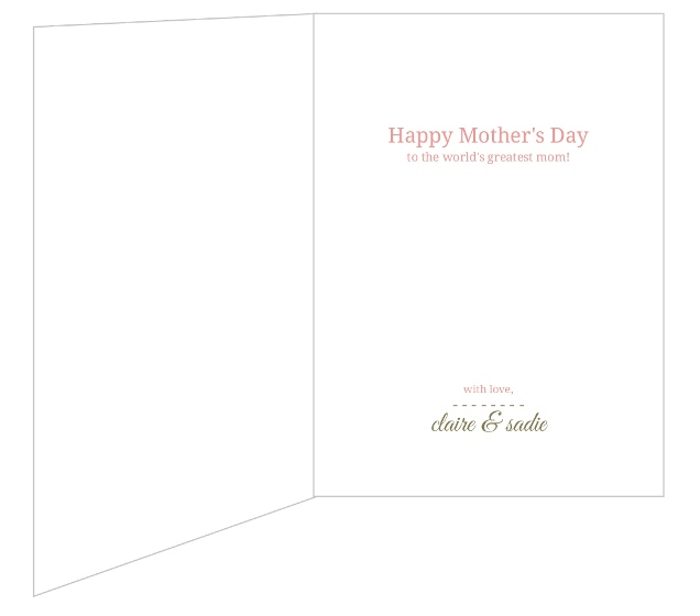 Elegant floral mothers day card mothers day cards for Classy mothers day cards